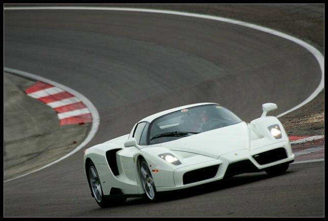 Worlds Only White Enzo Ferrari Life