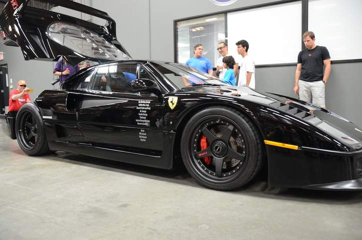 F40 on Fast 'n Loud - Ferrari Life