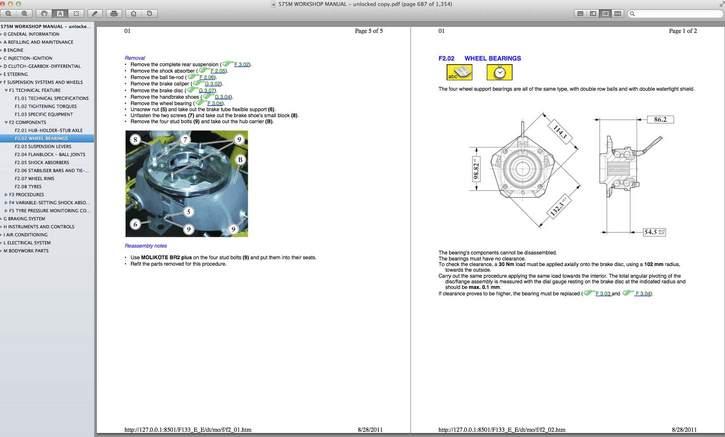 ferrari workshop manuals pdf