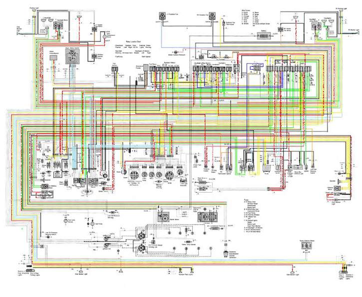 wiring diagram for 456m - ferrari life, Wiring diagram