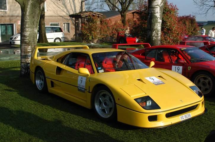 Yellow RHD F40 - Ferrari Life
