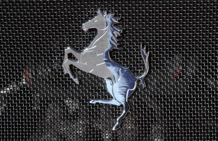 Rear Chrome Horse Badge Findings Ferrari Life