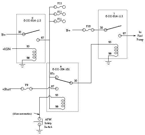 328 fuel pump/no start troubleshooting - ferrari life, Wiring diagram